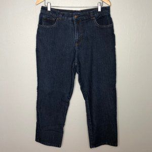 Basic Editions Classic Fit High Rise Dark Jeans